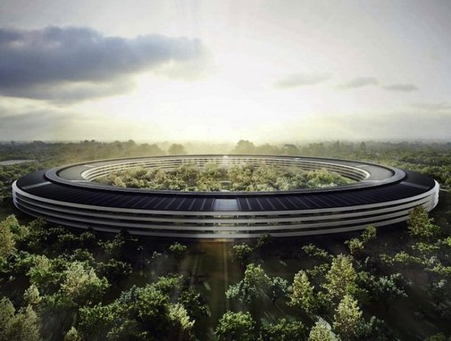 Steve Jobs' UFO-Shaped Apple HQ Almost a Reality