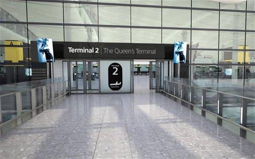 London Heathrow (LHR) – T2 opening