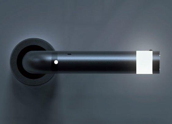 LEDoorHandle - Door Handle, LED Lights, And Detachable Flashlight Combo