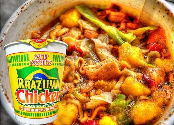 Brazilian Chicken Cup Noodle's Goal: Win Over Your Taste Buds