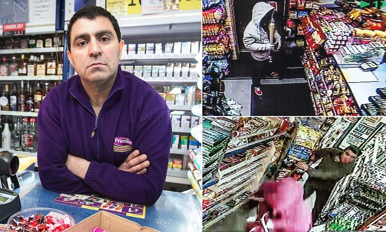 Special Forces veteran and black belt shopkeeper chases off robbers in Salford   Mail Online