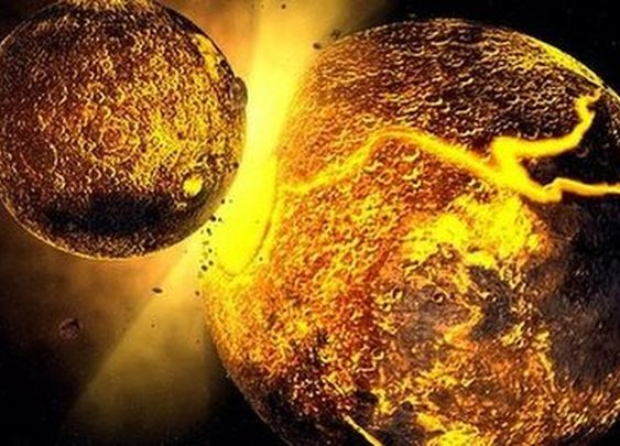 BBC News - Traces of another world found on the Moon