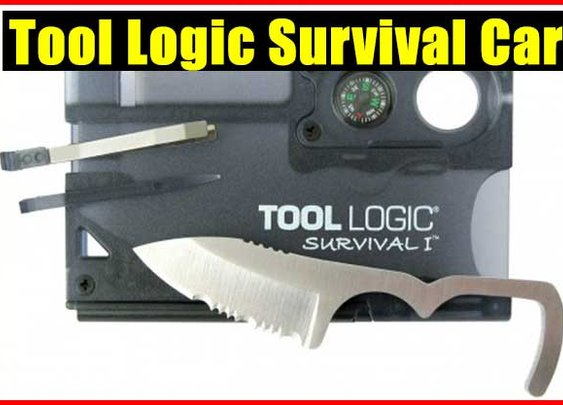 Tool Logic Survival Card - SHTF Preparedness