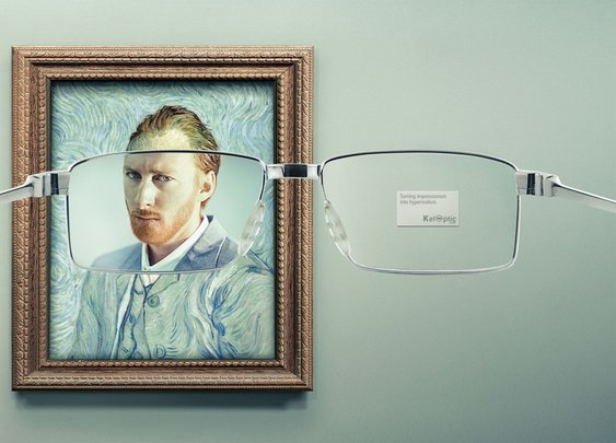 Keloptic: Impressionism, 2 | Ads of the World™