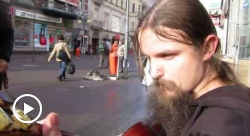 You're Going To Love This Polish Street Musician