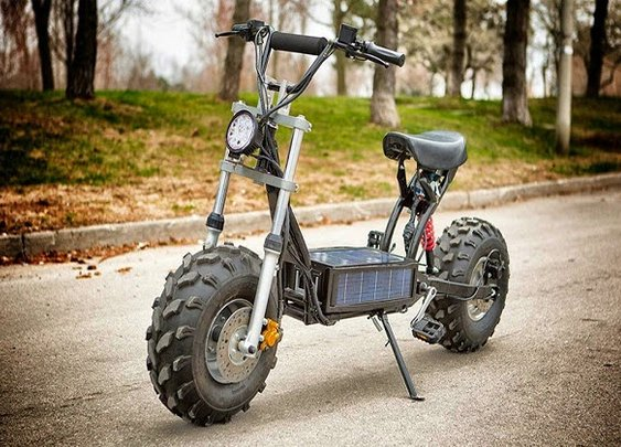 The Beast Solar Powered Electric Scooter