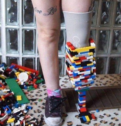 LEGO My Leg!
