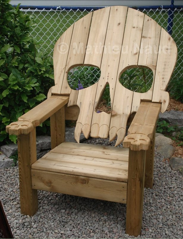 Conceptual Skull Chairs | Upon a Midnight Dreary
