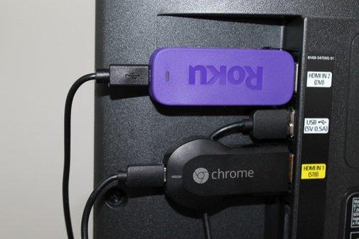 Chromecast vs. Roku Streaming Stick: A hands-on look