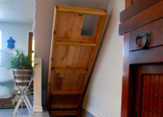 Secret Hatch to Basement Stairs | StashVault
