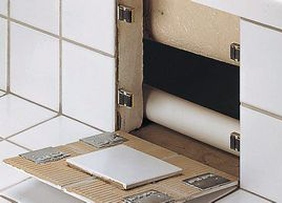 Secret Tile Wall Compartment Brackets | StashVault