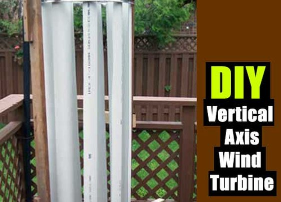 DIY Vertical Axis Wind Turbine - SHTF Preparedness
