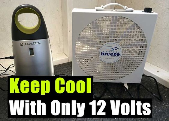 Keep Cool With Only 12 Volts - SHTF Preparedness
