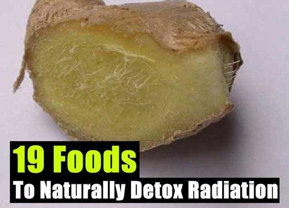 19 Foods To Naturally Detox Radiation - SHTF Preparedness