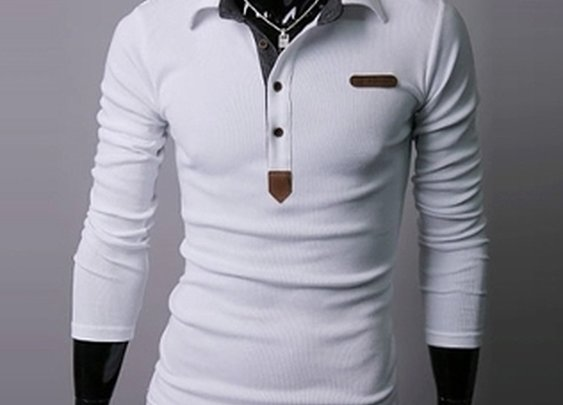 Men's Polo Shirt Long Sleeve