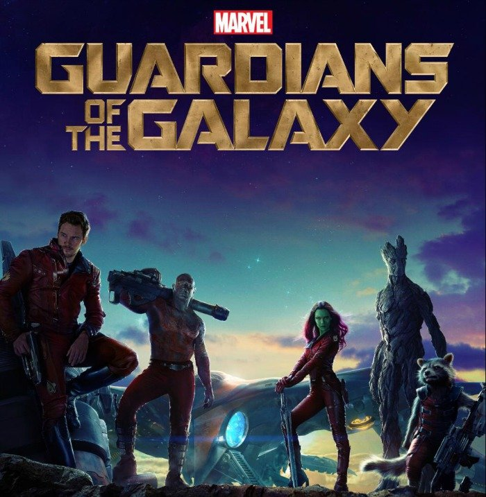 New Marvels Guardians of the Galaxy Poster of all your favorite space adventurers