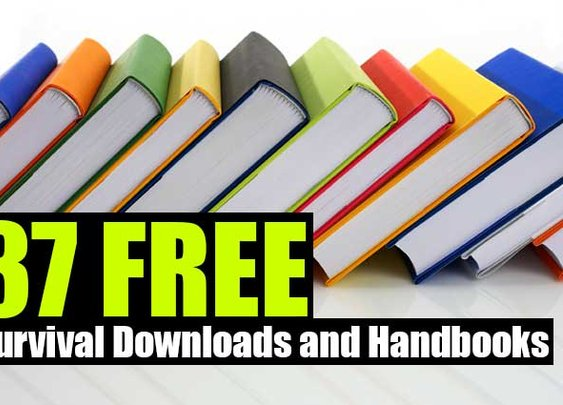 37 FREE Survival Downloads and Handbooks - SHTF Preparedness