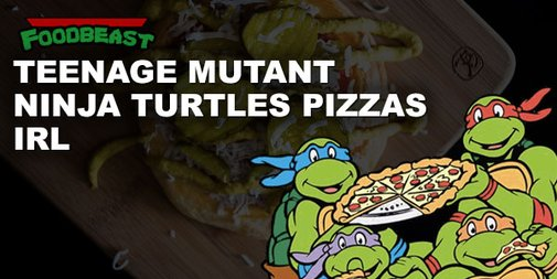 24 Teenage Mutant Ninja Turtle Pizza Orders IRL |Foodbeast