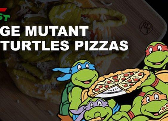 24 Teenage Mutant Ninja Turtle Pizza Orders IRL |Foodbeast