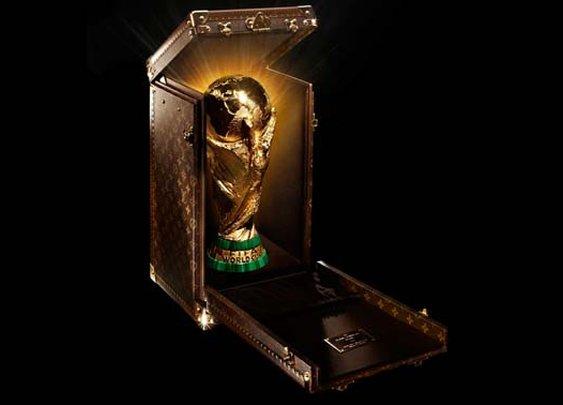 Louis Vuitton Designs Custom Trophy Case for the 2014 FIFA World Cu