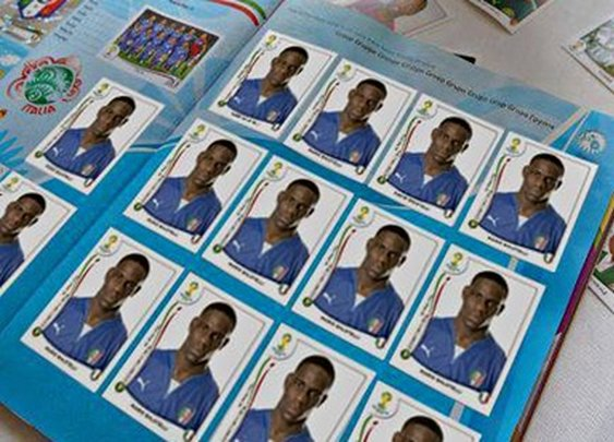 Panini stickers are back for Brazil 2014