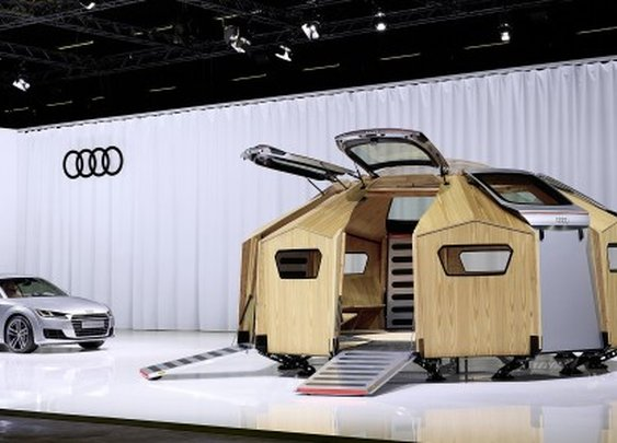 Audi TT gets its own field pavilion