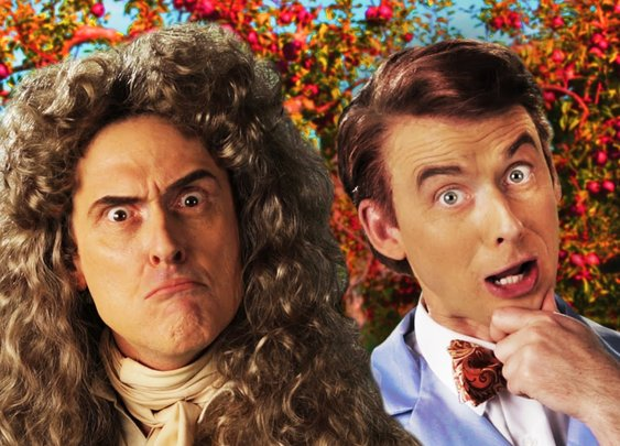 Sir Isaac Newton vs Bill Nye. Epic Rap Battles of History Season 3
