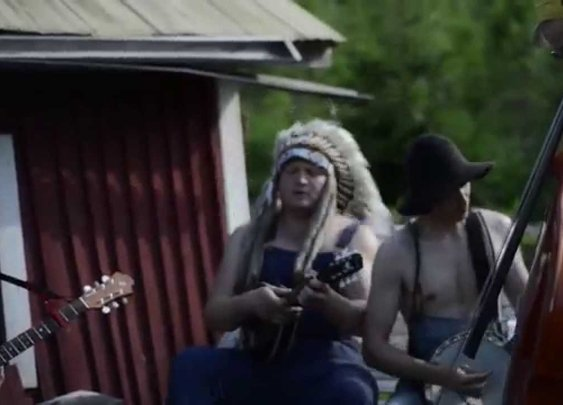 Awesome Bluegrass Cover of Iron Maiden's 'The Trooper'