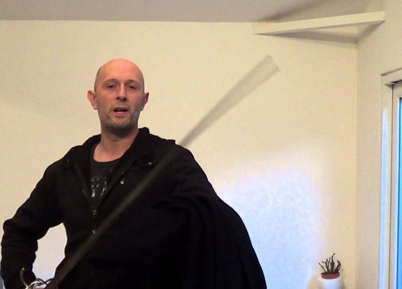 Cloaks used with swords in historical fencing styles - YouTube