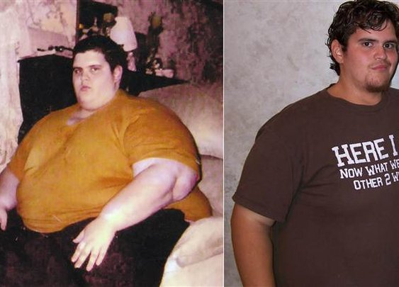 'Shadow' of his former self: Meet the man who lost 550 pounds - Health - TODAY.com