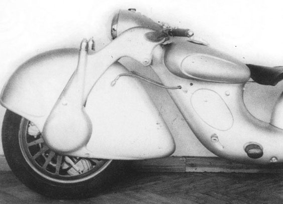 Prototype Motorcycle Represented A Gloriously Backwards Future