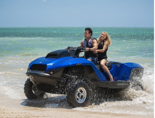 Gibbs adds room for two on its Quadski amphibious four-wheeler