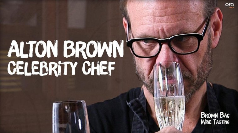 Alton Brown and William Shatner Drink Wine and Make Biscuits & Gravy