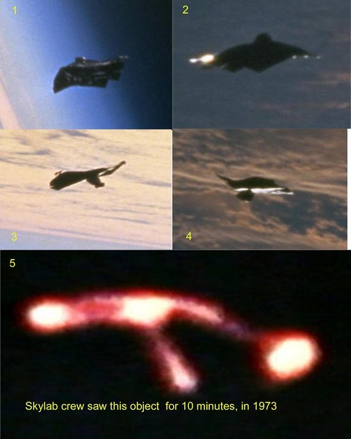 Alien UFO Sightings: The Mysterious Black Knight Satellite