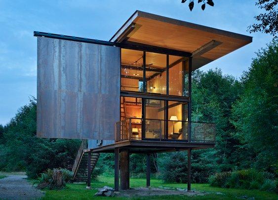 // by Olson Kundig Architects. Image: Benjamin Benschneider