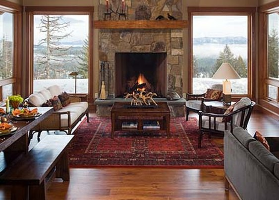 Mountain Home Great Room