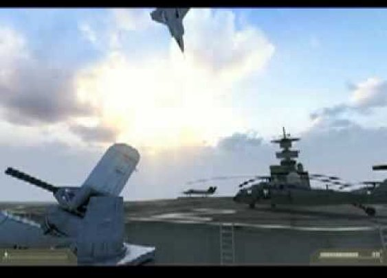 F35 Vertical Takeoff and Flip, it's a fake but pretty cool