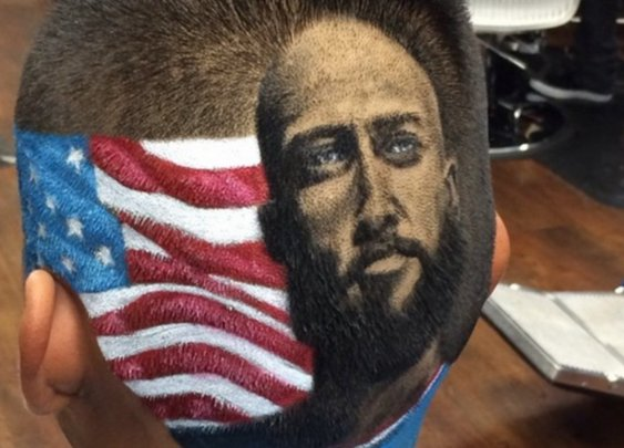 Tim Howard makes a great shave! San Antonio barber offering World Cup-themed haircuts for football fans | Mail Online