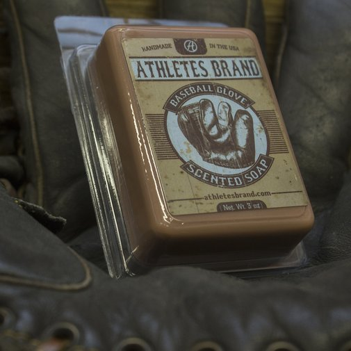 Baseball Glove Scented Soap - Athletes Brand