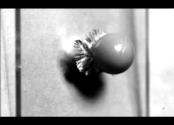 High-Speed Camera HPV-X - Breaking Glass - (Recording Speed 10Mfps) - YouTube