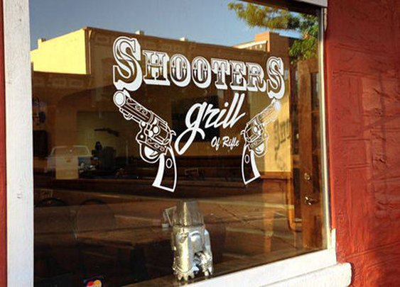 The Waitresses Pack Loaded Guns at Shooters Grill in Rifle, Colorado - Gun Wire -