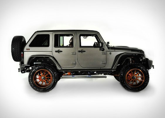 2014 Jeep Wrangler Unlimited Nighthawk | Uncrate