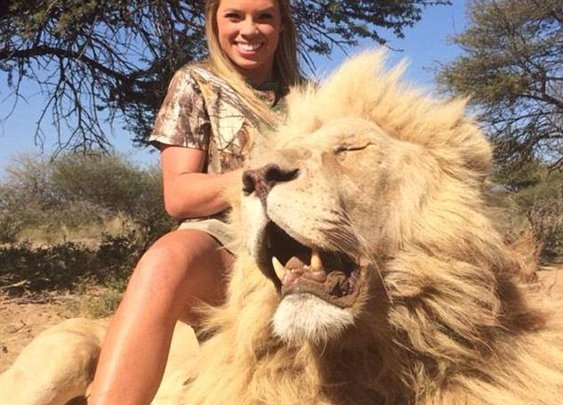 Texas cheerleader makes no apologies for her big game hunts