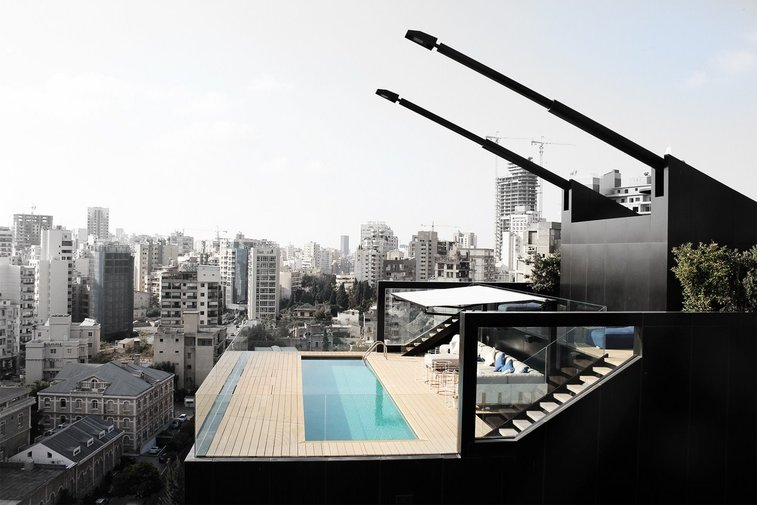 N.B.K. Residence by Lebanese Architect Bernard Khoury