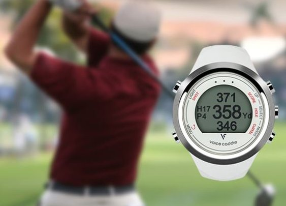 Voice Caddie T1 GPS Range Finder/Hybrid Golf Watch Golf Deal