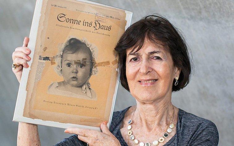 Nazi 'perfect Aryan' poster child was Jewish - Telegraph