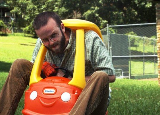 'Toy Wars', A Special Effects Video Featuring Two Fathers Battling One Another With Children's Toys