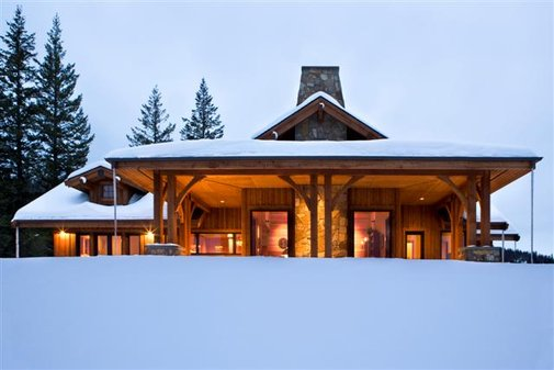 Mountain Cabin Featured in Cowboys & Indians Magazine