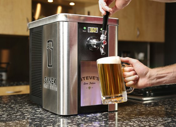 SYNEK - Any beer tapped fresh on your counter