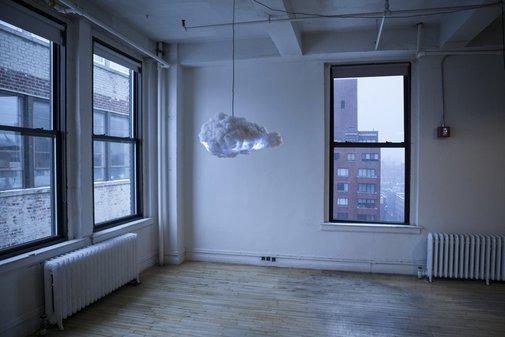 Cloud - Interactive Thundercloud Lamp